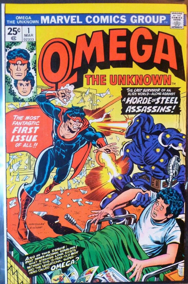 Omega The Unknown. Script: Mary Skrenes