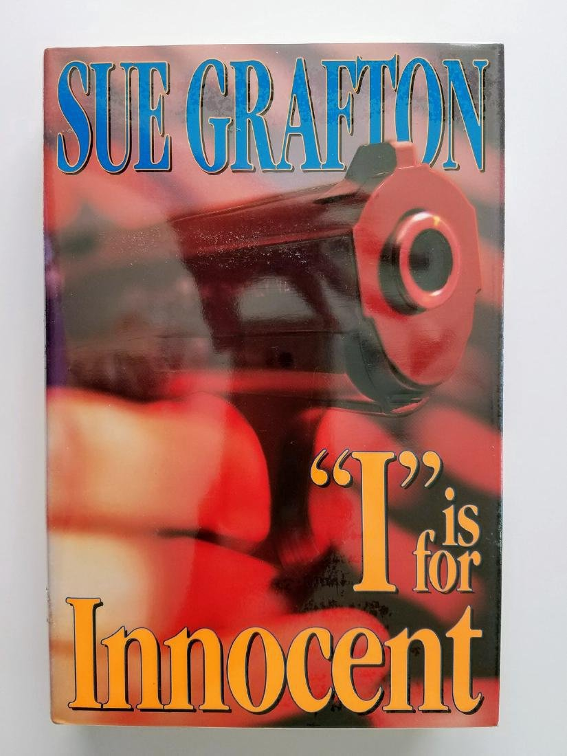 """""""I"""" is for Innocent. SIGNED! Sue Grafton."""