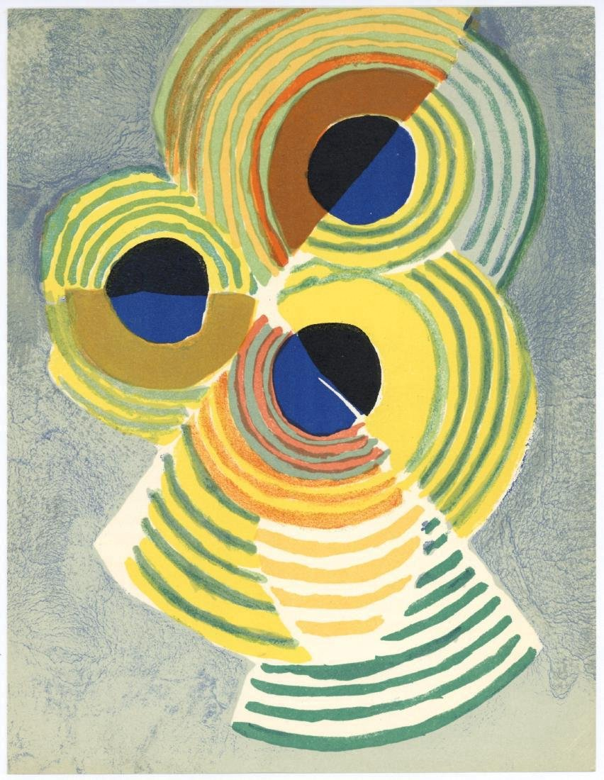 Robert Delaunay Rythmes Sans Fin Lithograph