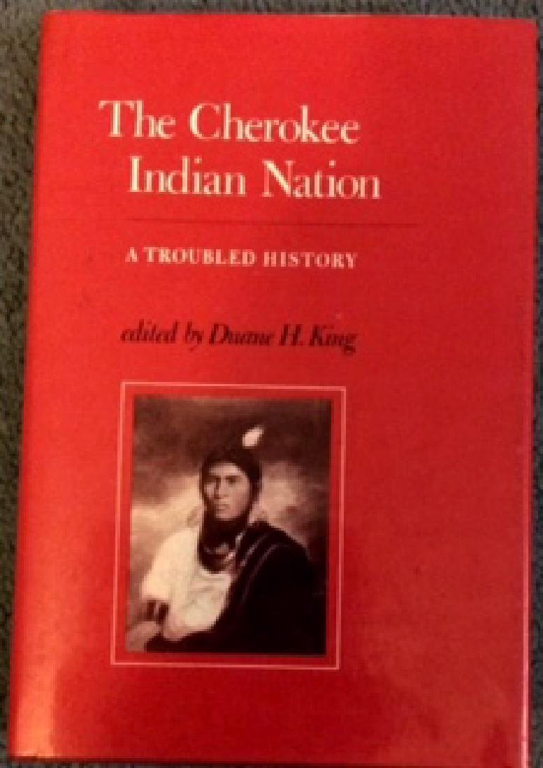 Collectible History Of The Cherokee Indians