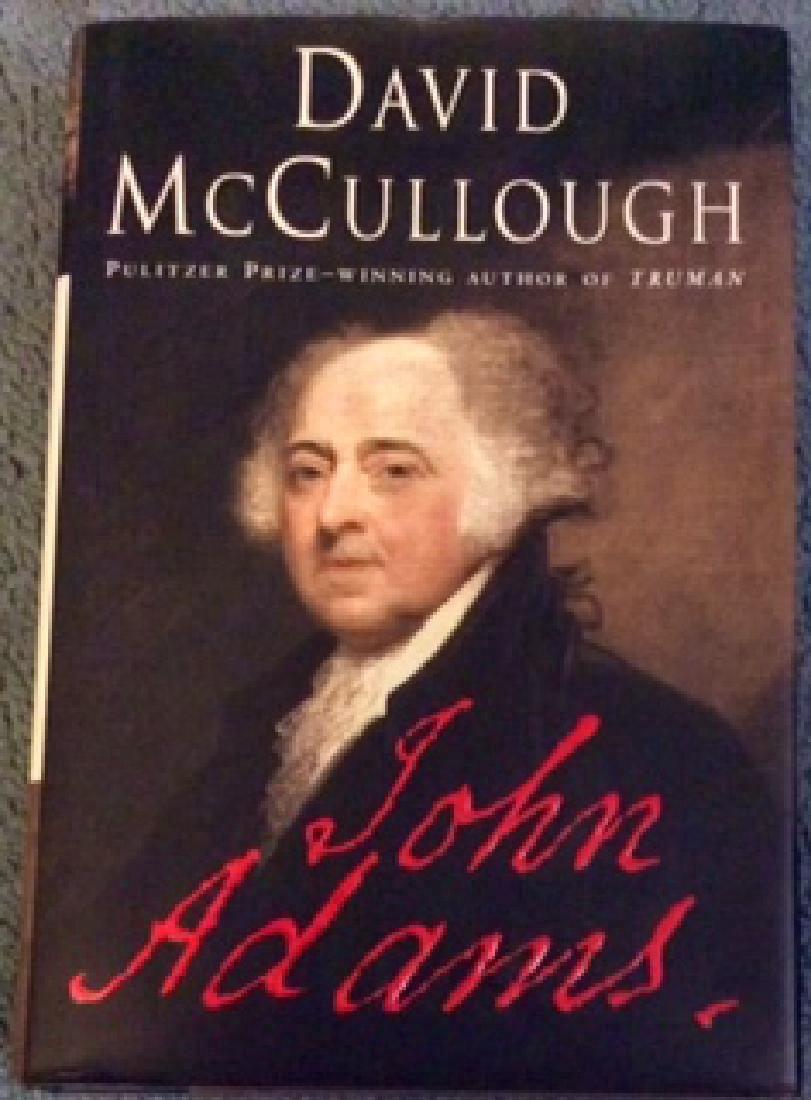 Collectible Hardcover McCullough Biography John Adams