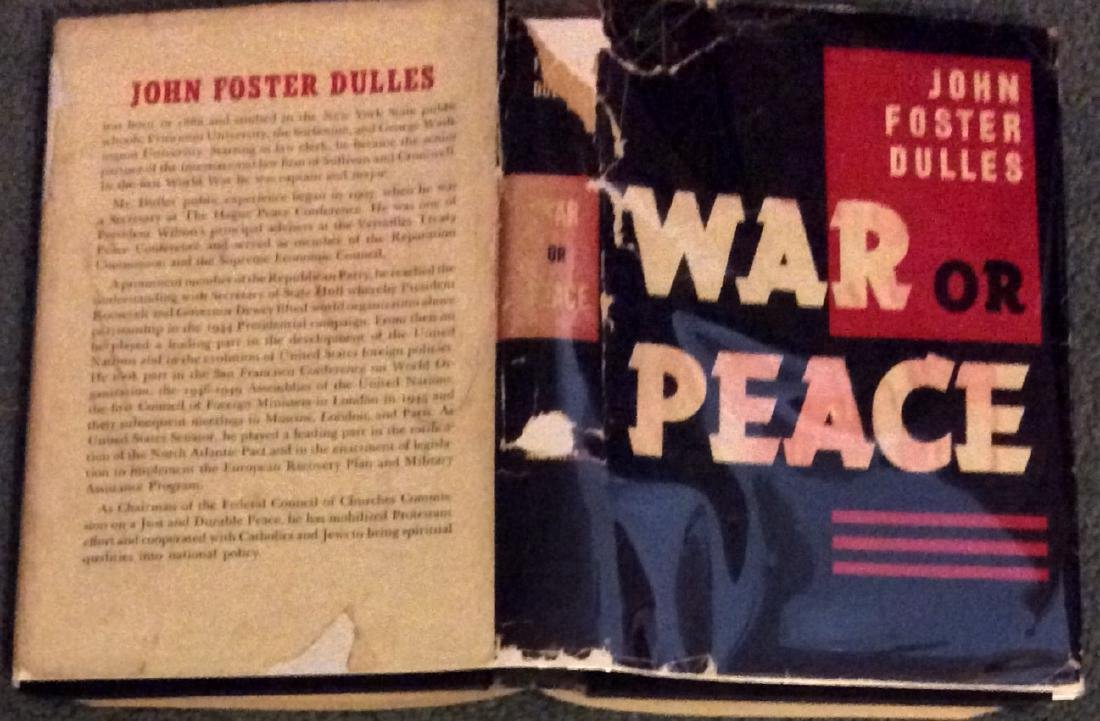 John Foster Dulles 1st Edition 1st Printing