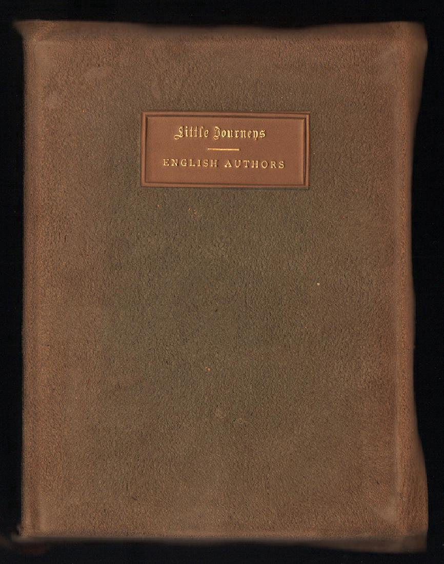 Ltd ed. illumined/signed Little Journeys by Roycrofters