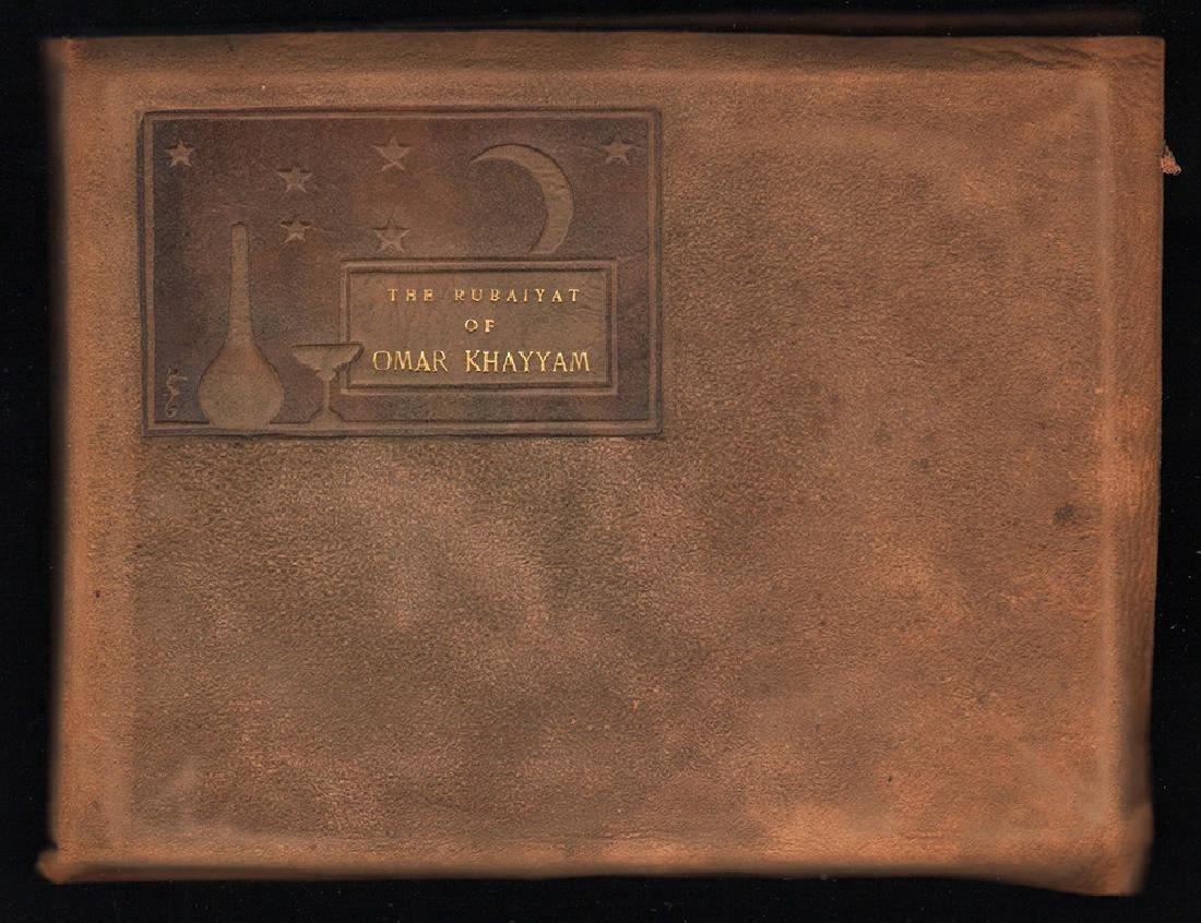 Ltd. ed. 1899 Rubaiyat of Omar Khayyam sgnd by Hubbard