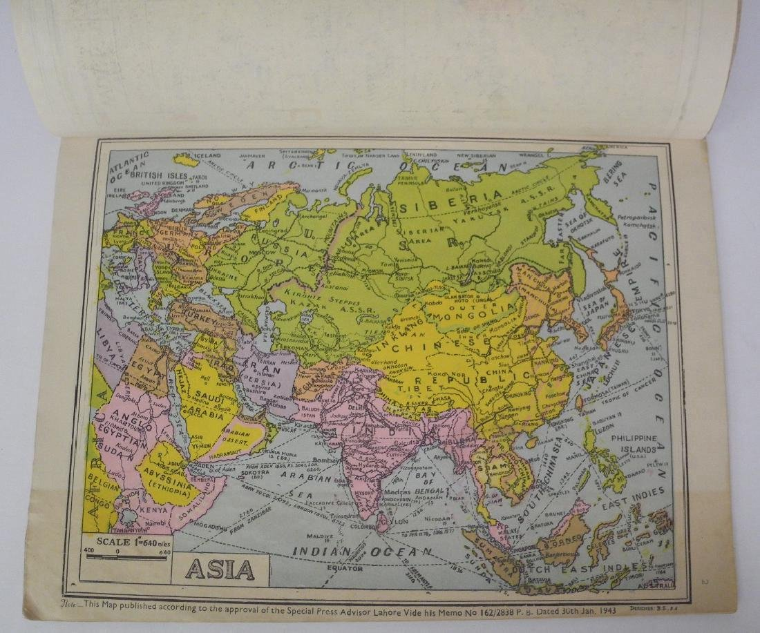 New Coloured Pictorial Atlas of India - 2