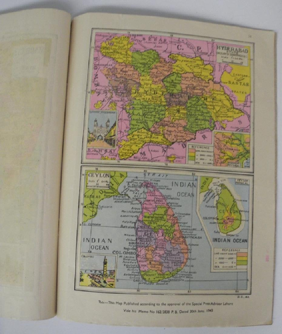 New Coloured Pictorial Atlas of India - 3
