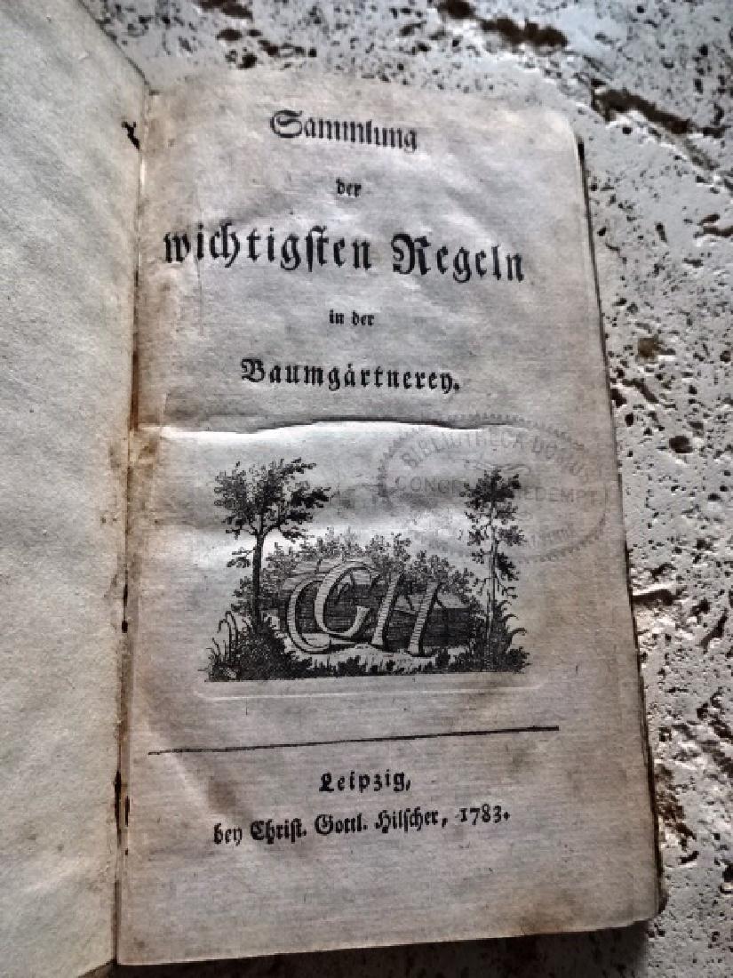 """1783 """"Sammlung de wichtigsten Regeln in der"""