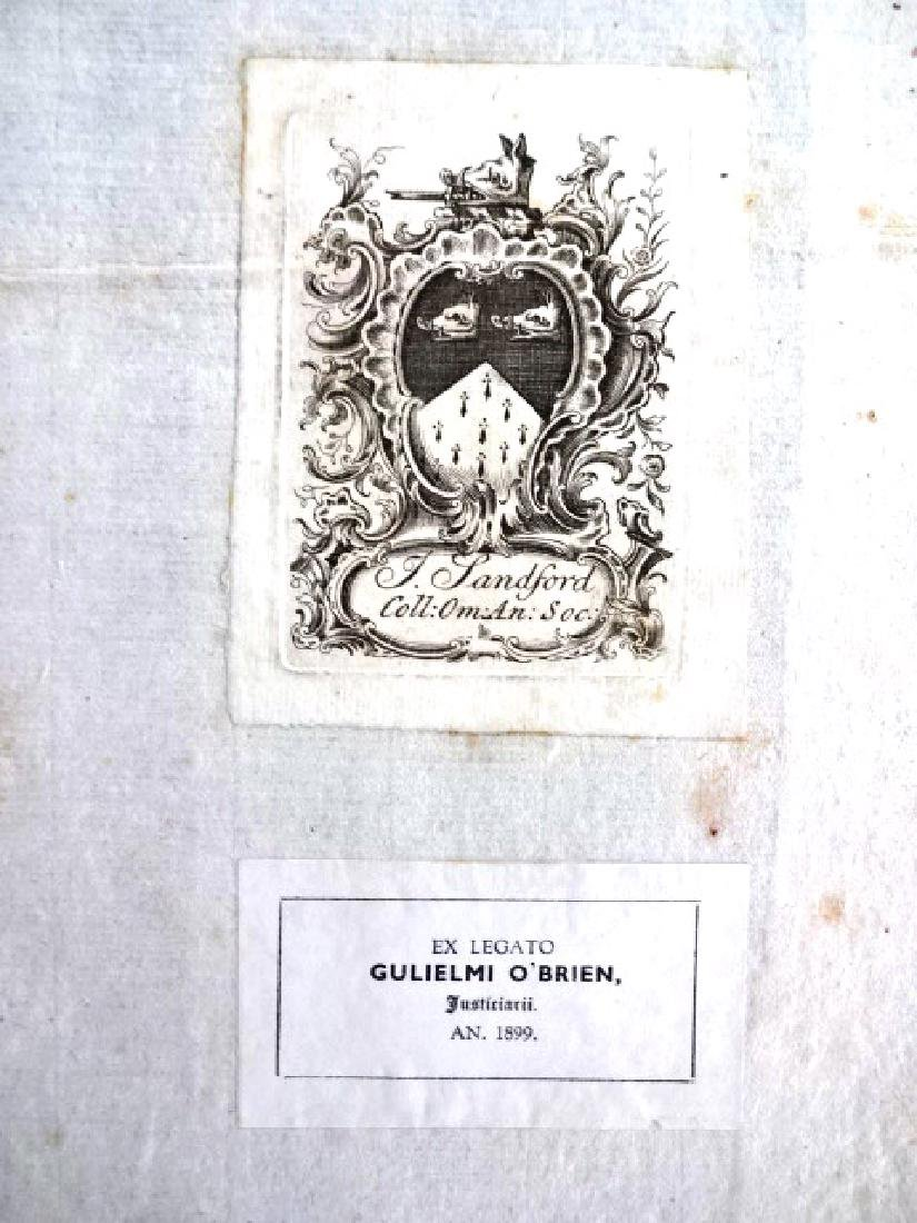 1721 Athenae Oxonienses Exact History Writers & Bishops - 2