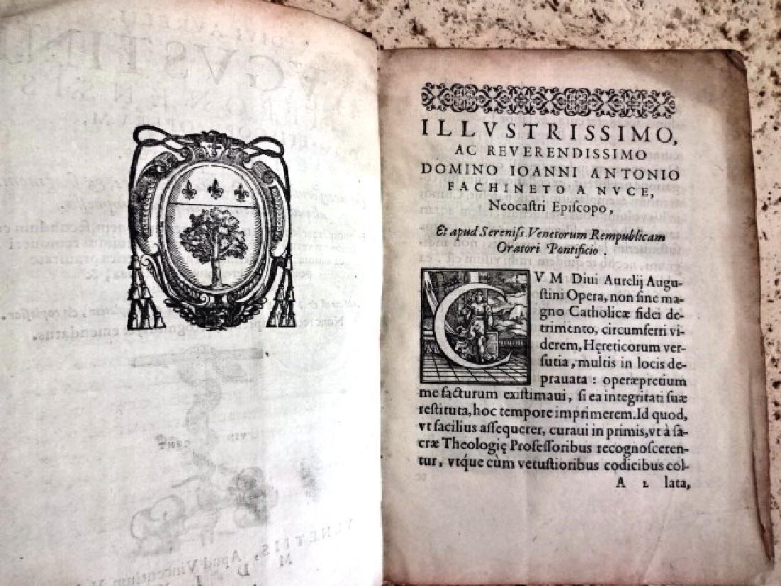 1570 Divi Augustini Hipponensis Episcopi, Operum - 3