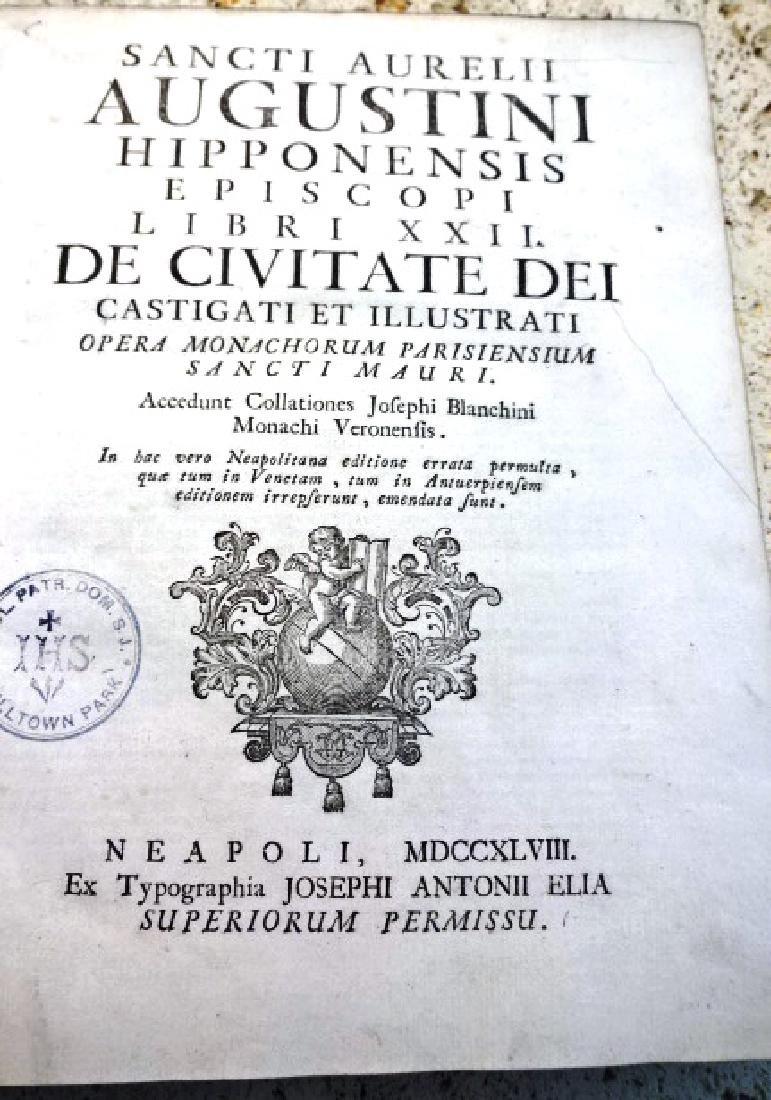1748 Sancti Aurelii Augustini Sancti Aurelii Augustini