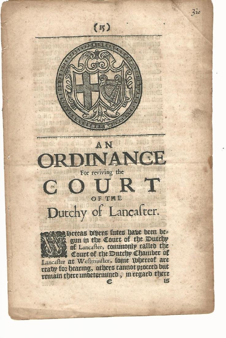 1654 English Commonwealth Act