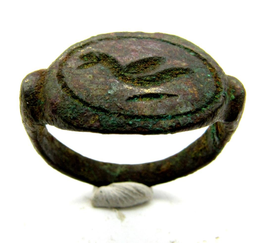 Ancient Greek Ring with Bird