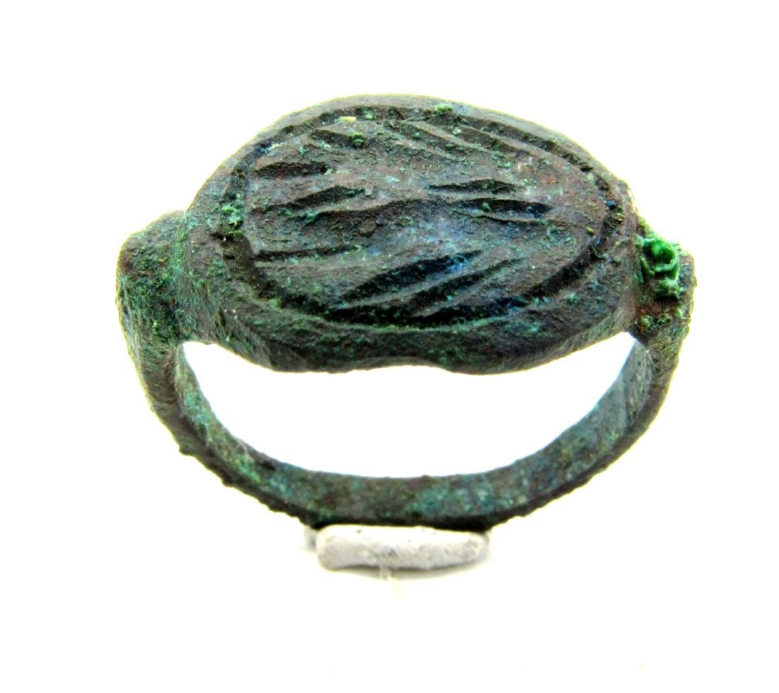 Greek Ring with Decoration - 2