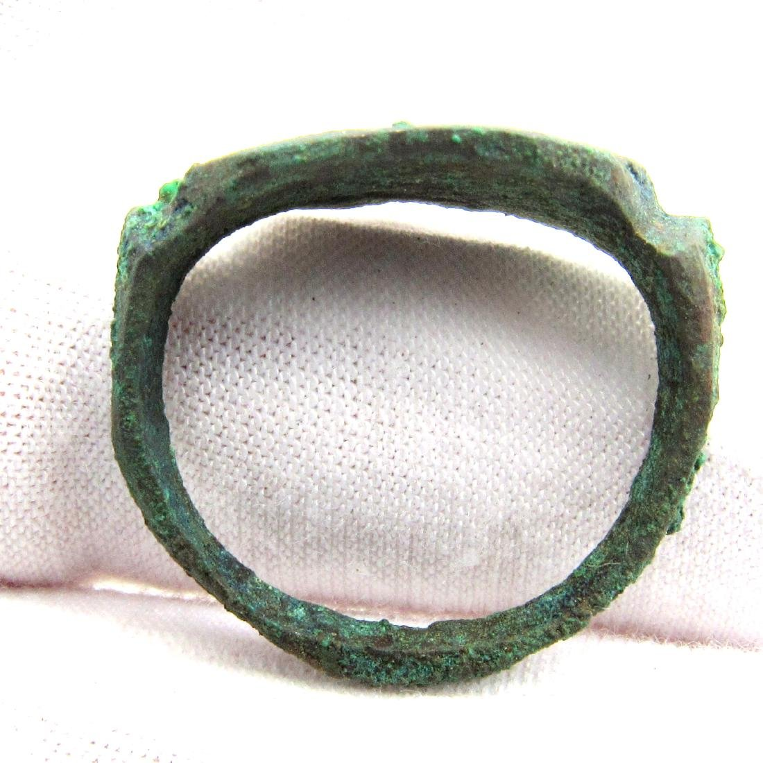 Greek Ring with Decoration - 3