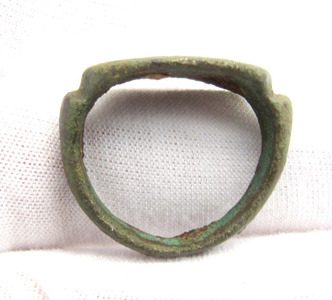 Greek Ring with Butterfly - 2