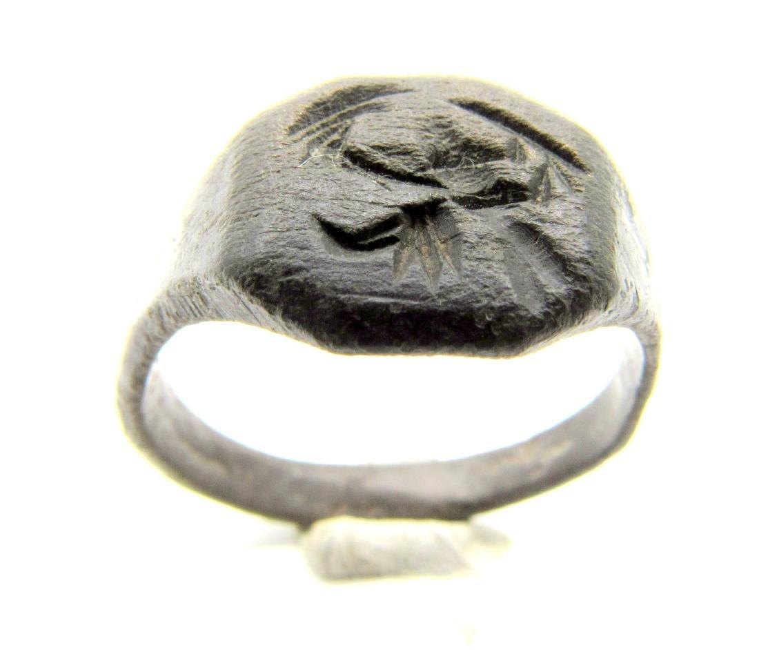 Viking Mythological Ring with Dragon (Fafnir) - 3