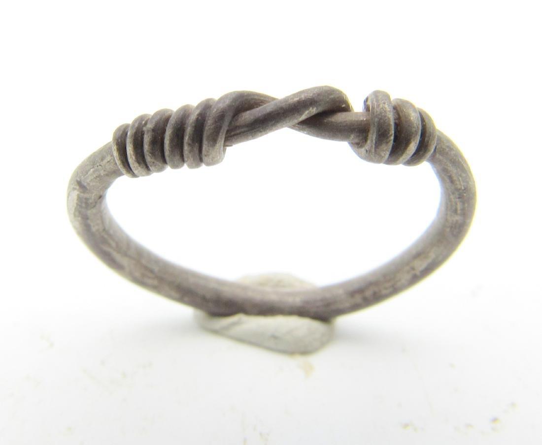 "Viking Silver ""Knot"" Ring - 2"