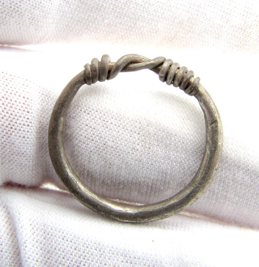"Viking Silver ""Knot"" Ring - 3"