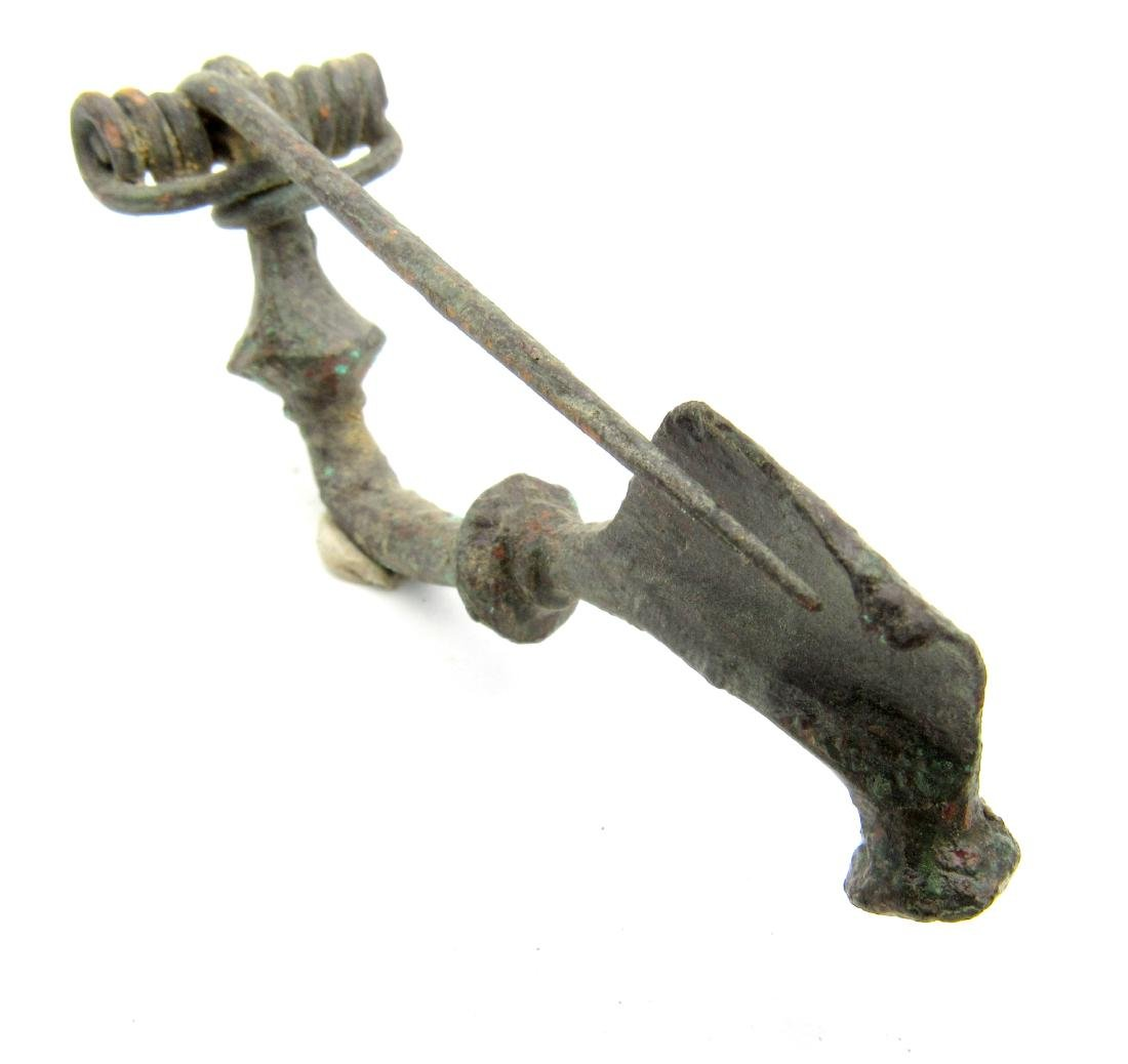 Roman Trumpet Brooch - 3