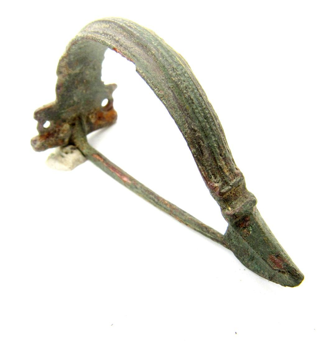 Ancient Roman Legionary Bow Brooch