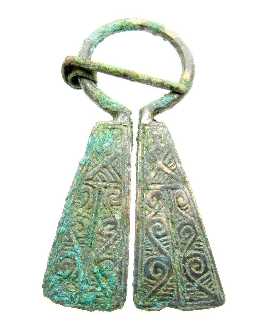 Viking Runic Penannular Brooch