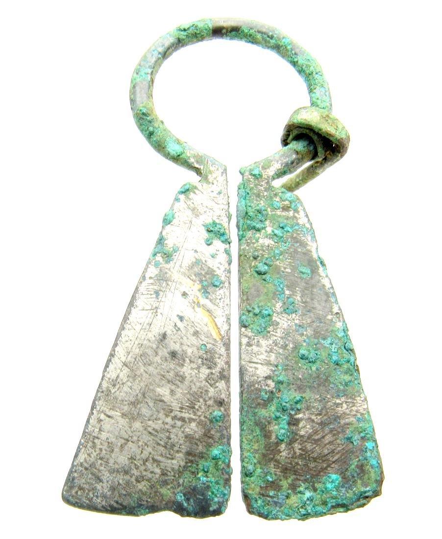 Viking Runic Penannular Brooch - 3