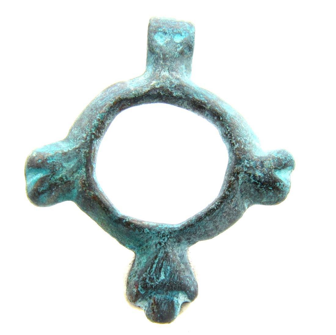 Viking Open-Work Zoomorphic Amulet - 2