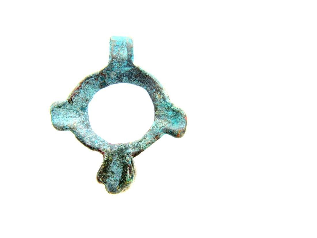 Viking Open-Work Zoomorphic Amulet - 4