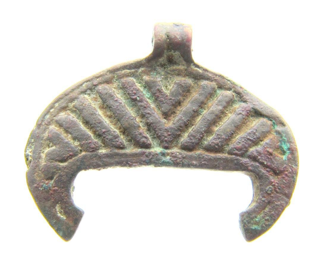 Viking Decorated Lunar Penant