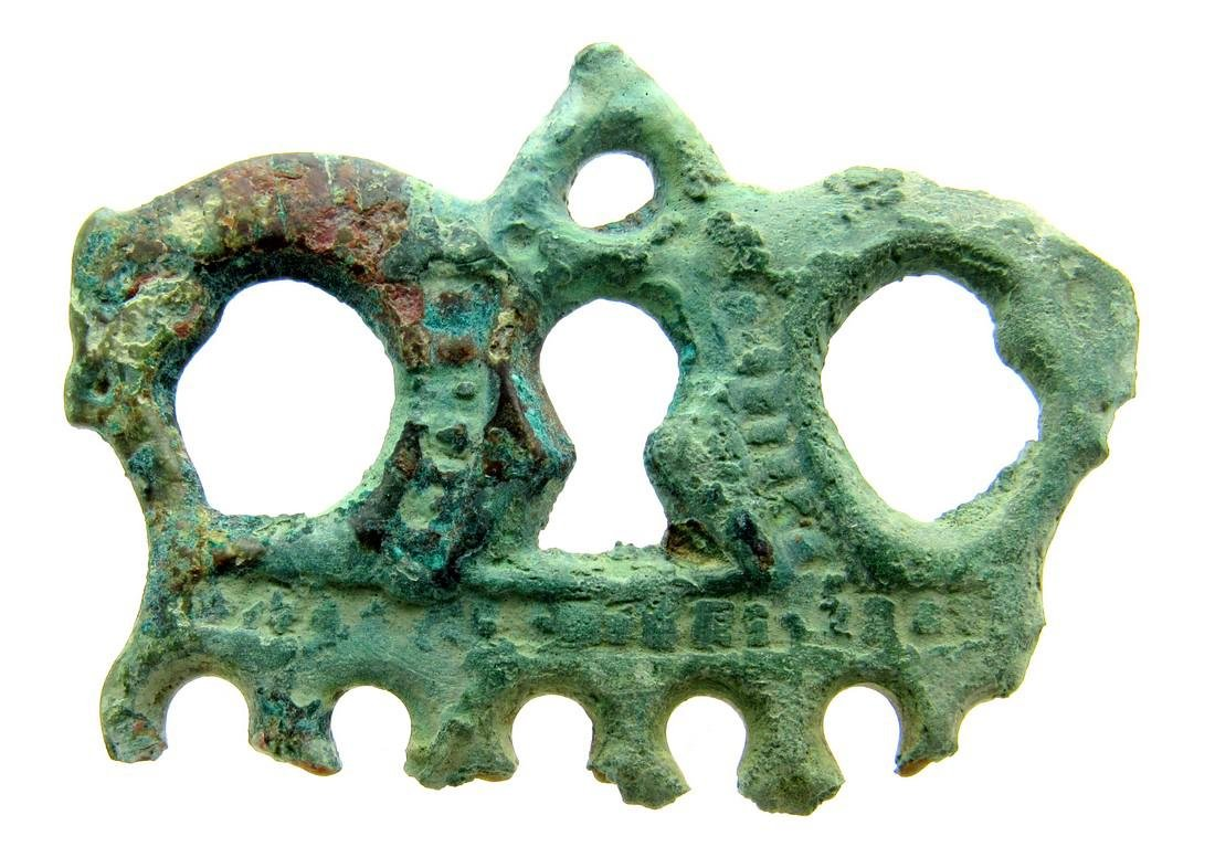 Viking Mythological Pendant with Two Dragons