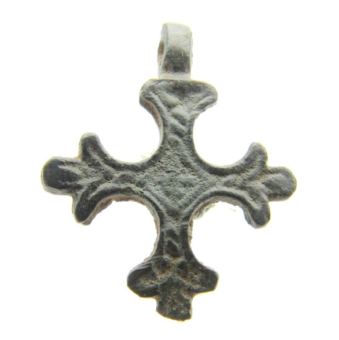 Crusaders Decorated Cross Pendant