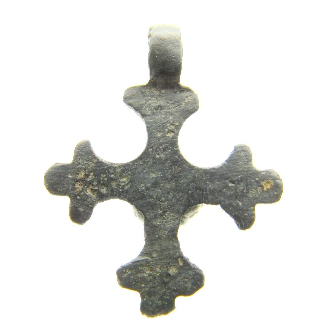 Crusaders Decorated Cross Pendant - 3