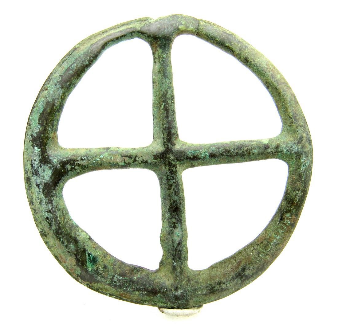 Saxon period Amulet with cross