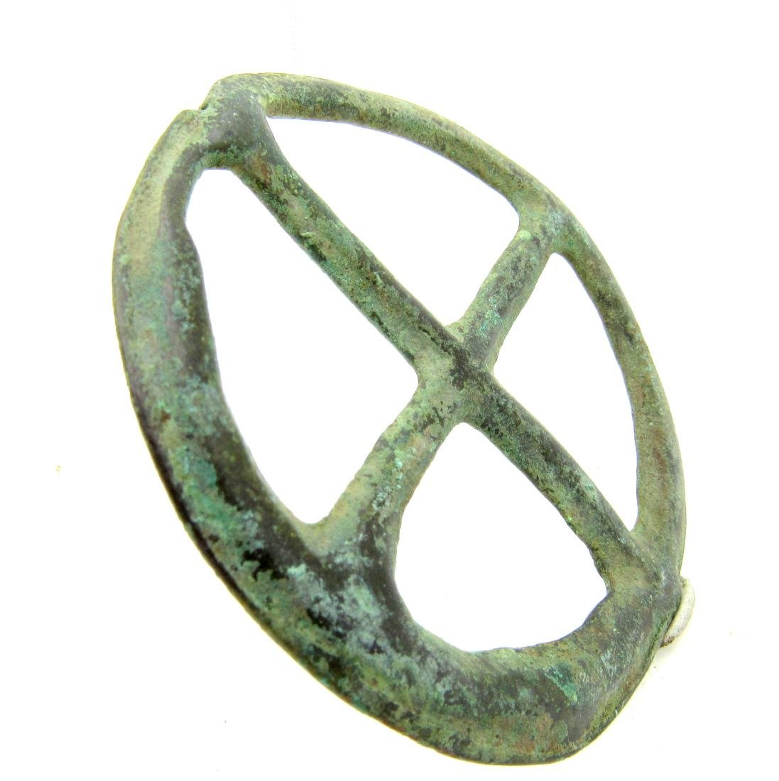 Saxon period Amulet with cross - 2