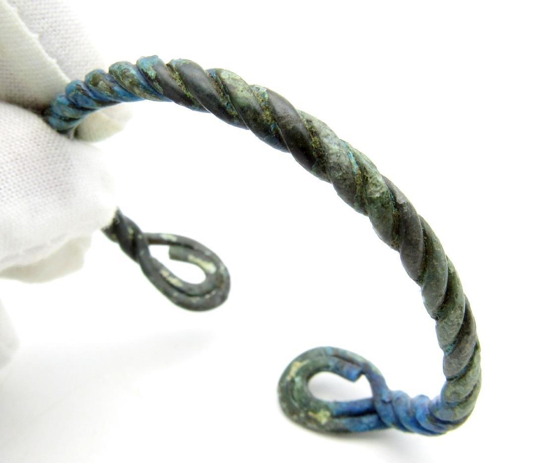 """Viking Twisted Bracelet - """"Fielty Ring"""""""