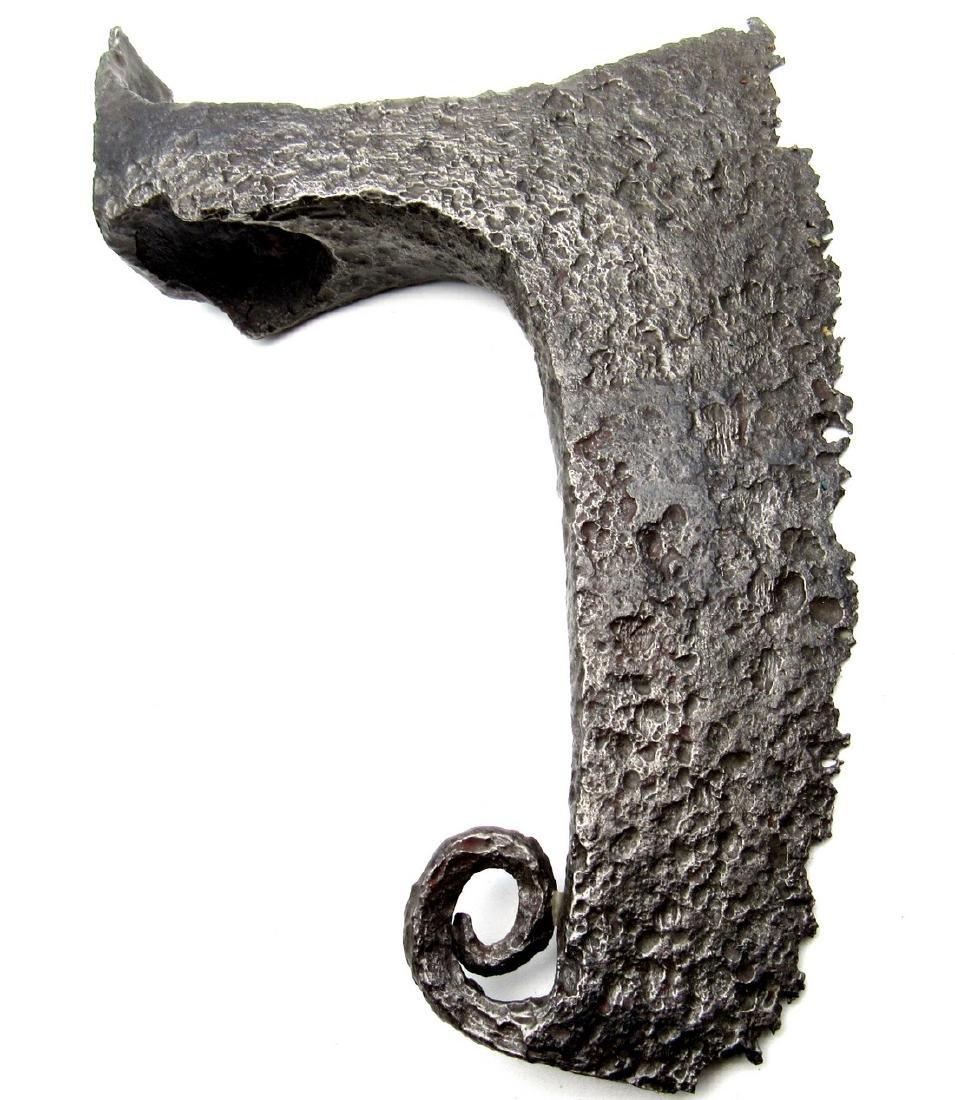 Viking Bearded Military Axe