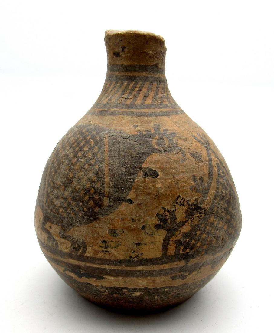 Indus Valley Jar with a Bird Motif - 2