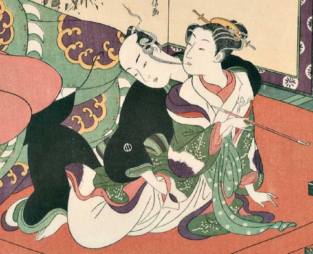 Harunobu Suzuki Japanese Woodblock Print - 2