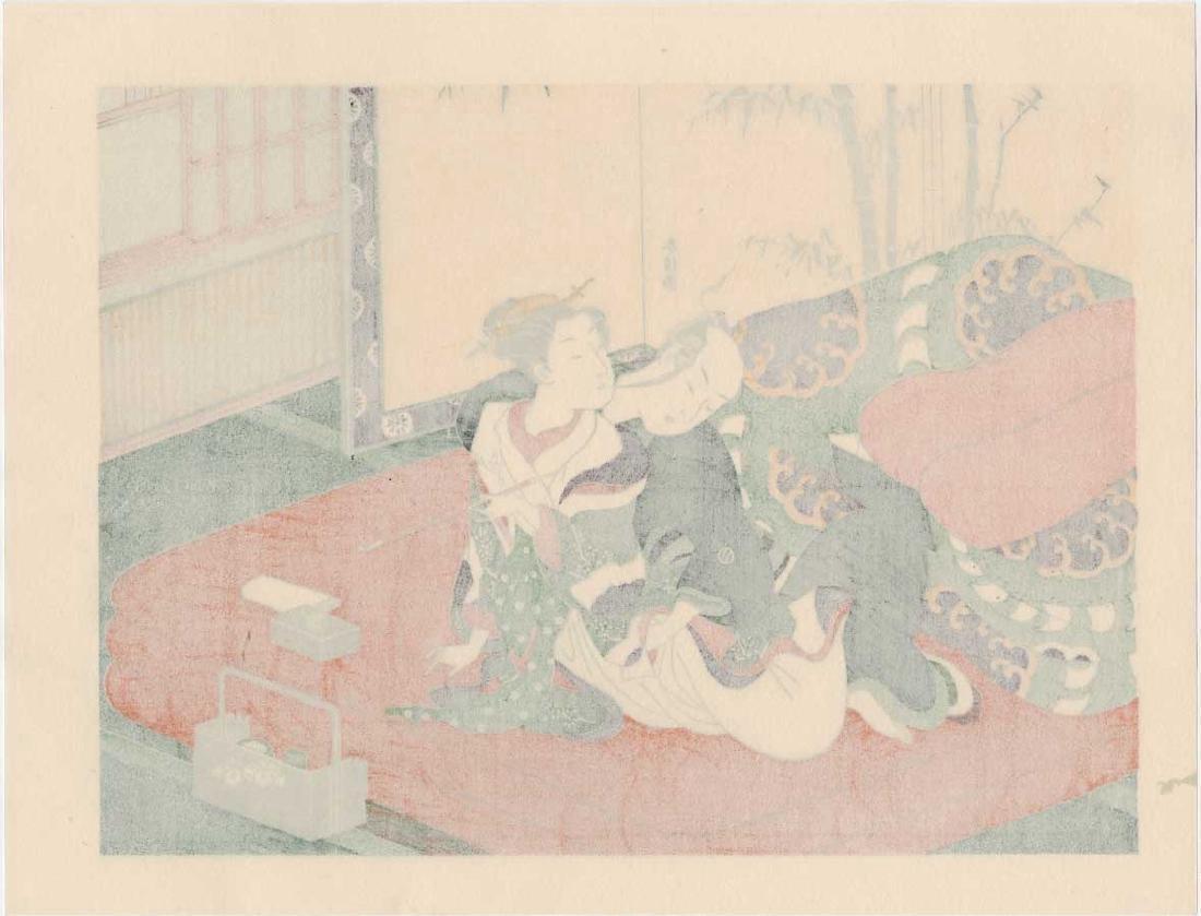 Harunobu Suzuki Japanese Woodblock Print - 3