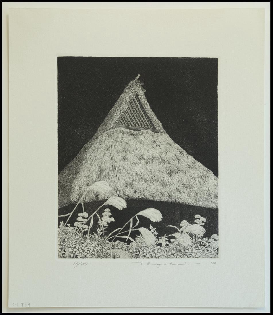 Ryohei Tanaka Pampas Grass Etching