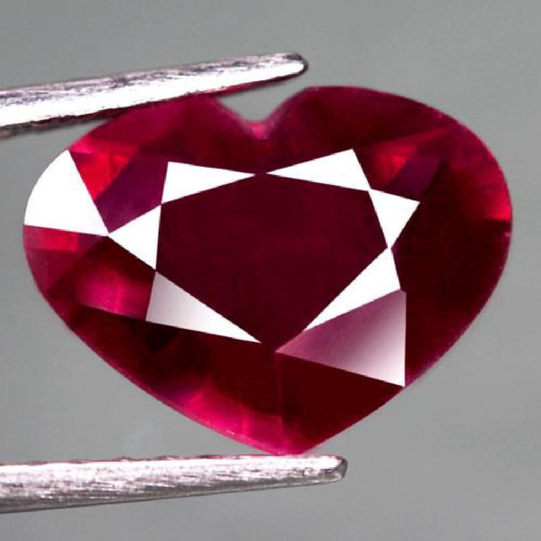 4.15 Carat Composite Loose Ruby