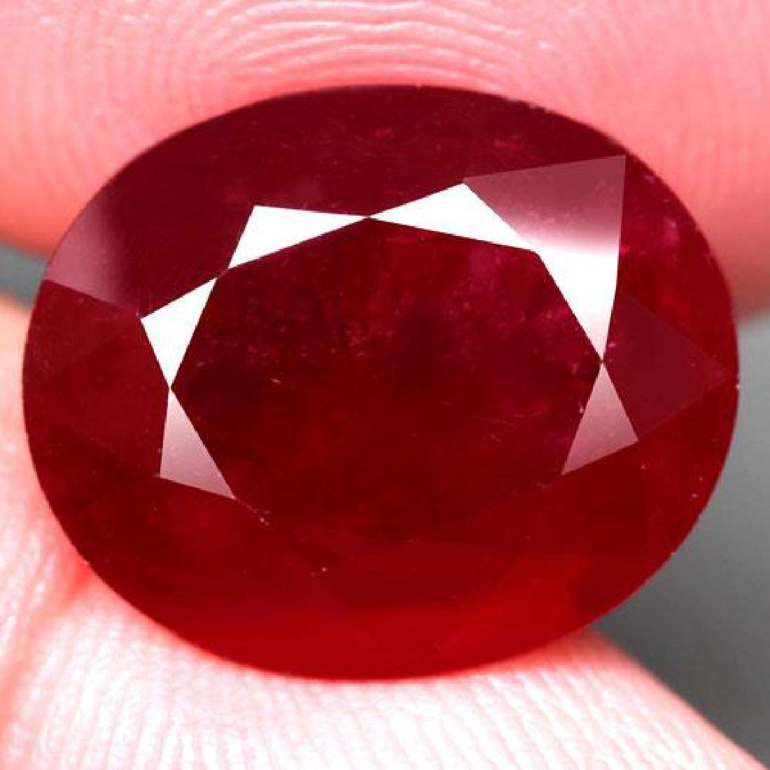 11.33 Carat Composite Loose Ruby
