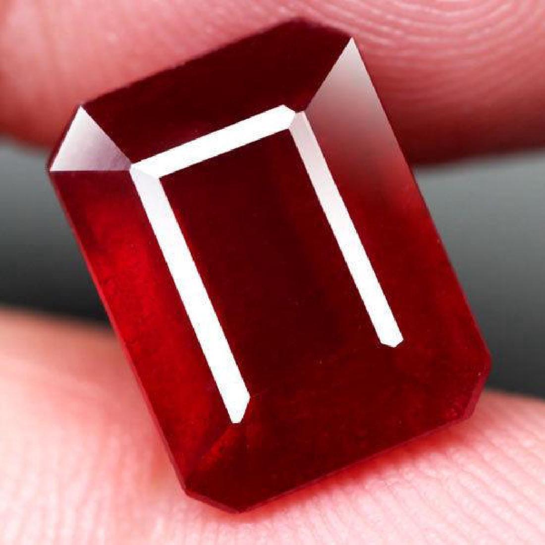 6.98 Carat Composite Loose Ruby