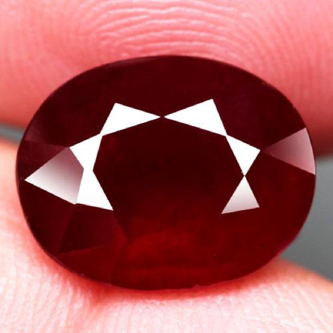 8.46 Carat Composite Loose Ruby