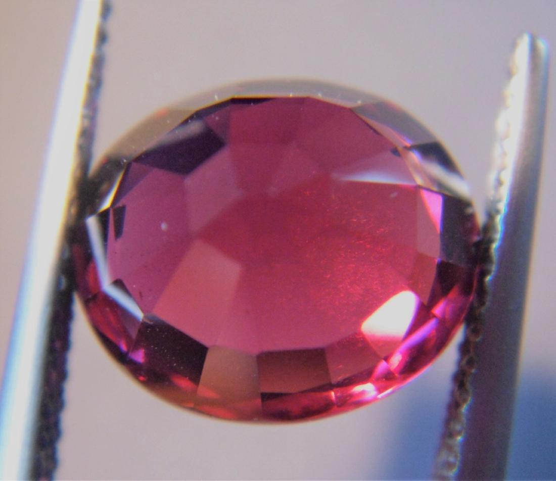 5.92 ct Loose Rhodolite Garnet - 2