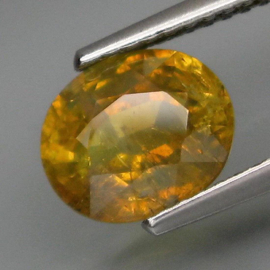 2.19 Carat Genuine Loose Yellow Sapphire