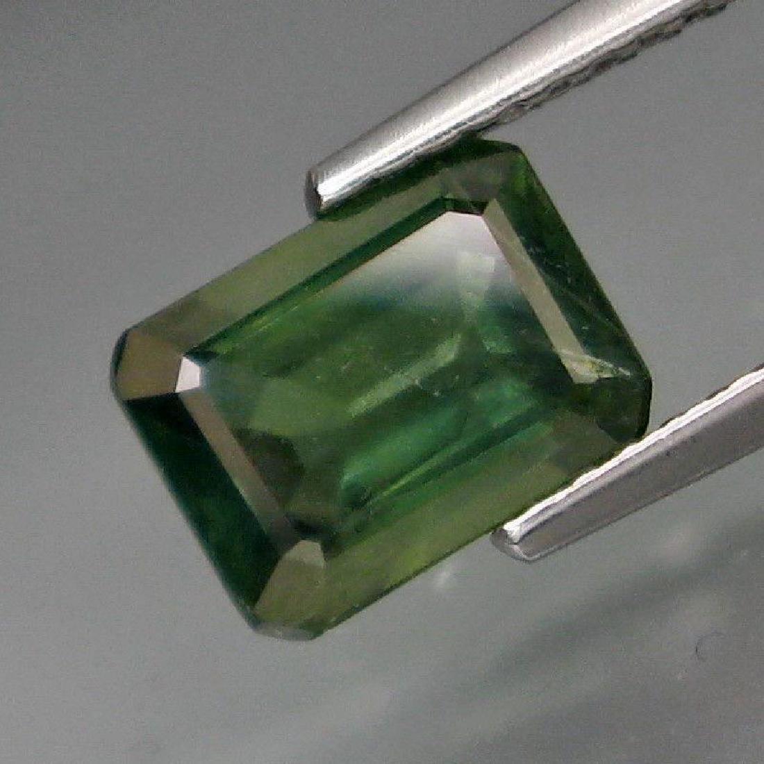 2.00 Carat Genuine Loose Green Sapphire