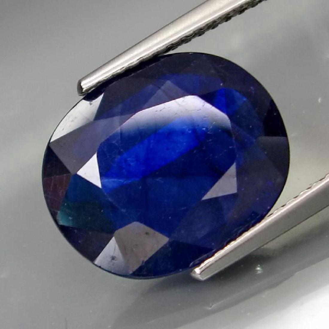 6.58 Carat Composite Loose Sapphire