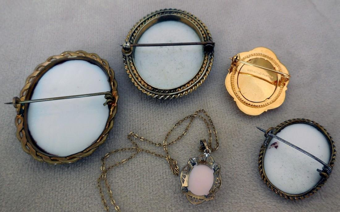 Collection of Antique & Vintage Cameos - 8