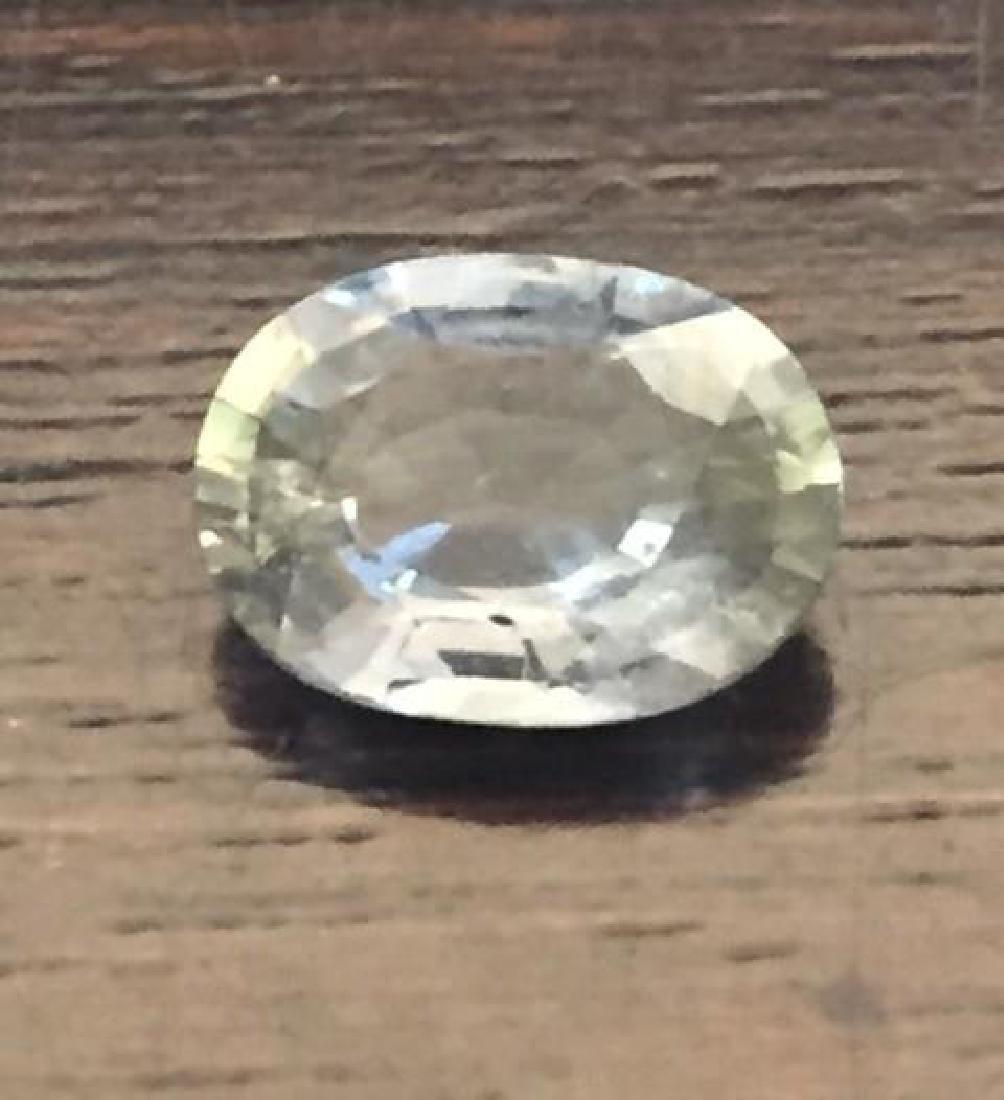 1.85 Carat Genuine Loose Green Sapphire